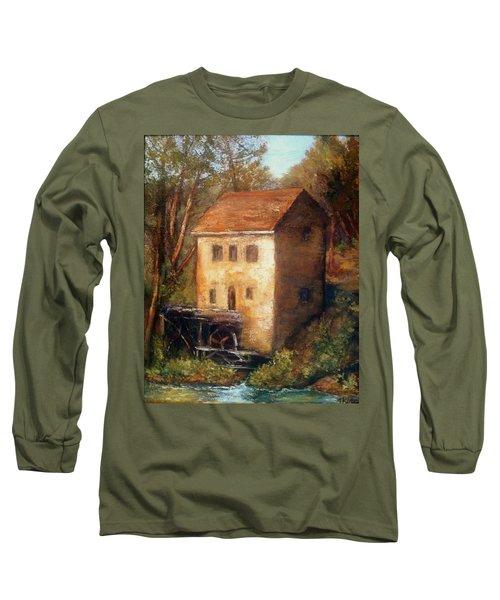The Old Mill Long Sleeve T-Shirt by Gail Kirtz