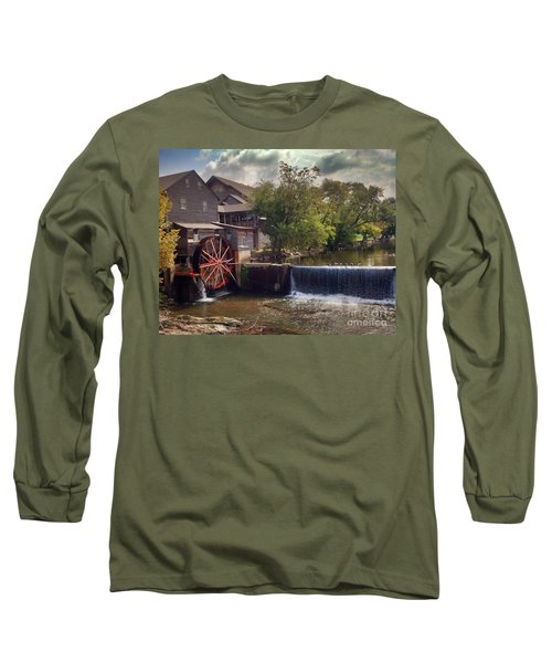 Long Sleeve T-Shirt featuring the photograph The Old Mill by Janice Spivey