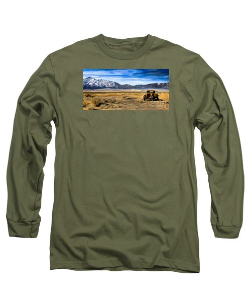 The Old One Long Sleeve T-Shirt by Robert Bales