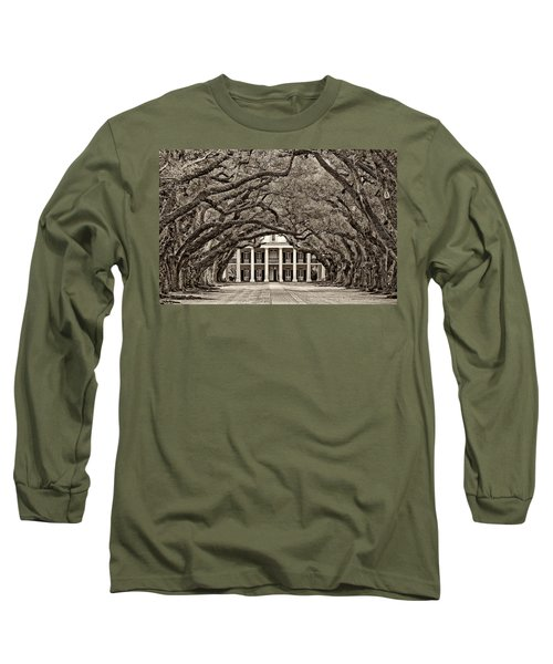 The Old South Sepia Long Sleeve T-Shirt by Steve Harrington