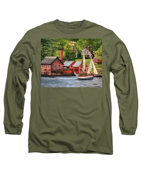 The Paint Factory And The Ardelle Long Sleeve T-Shirt by Eileen Patten Oliver
