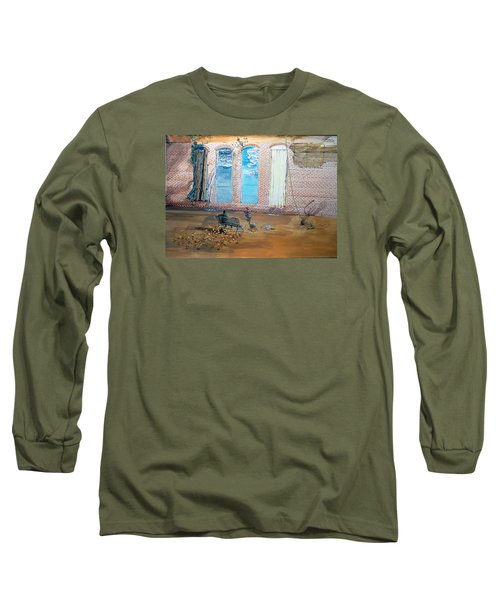 The Parade Of The Moods Long Sleeve T-Shirt by Lazaro Hurtado