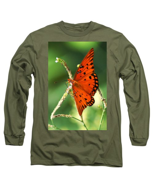 The Passion Butterfly Long Sleeve T-Shirt