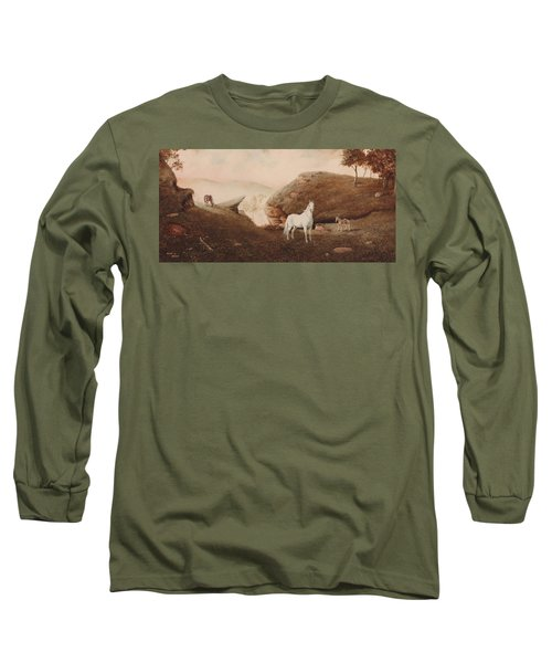 The Patriarch Long Sleeve T-Shirt by Duane R Probus