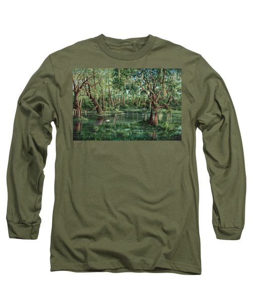 The Preacher And His Flock Long Sleeve T-Shirt