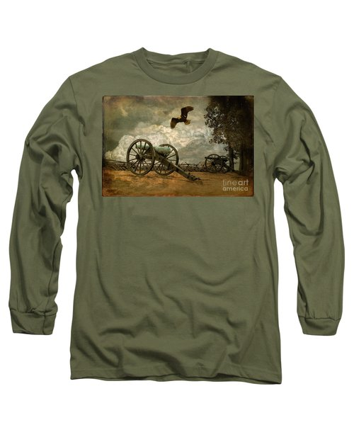 The Price Of Freedom Long Sleeve T-Shirt by Lois Bryan