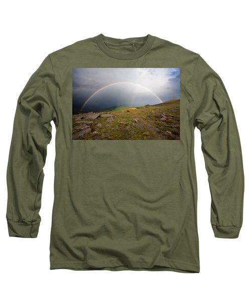 Long Sleeve T-Shirt featuring the photograph The Promise by Jim Garrison