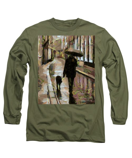 The Rainy Walk Long Sleeve T-Shirt
