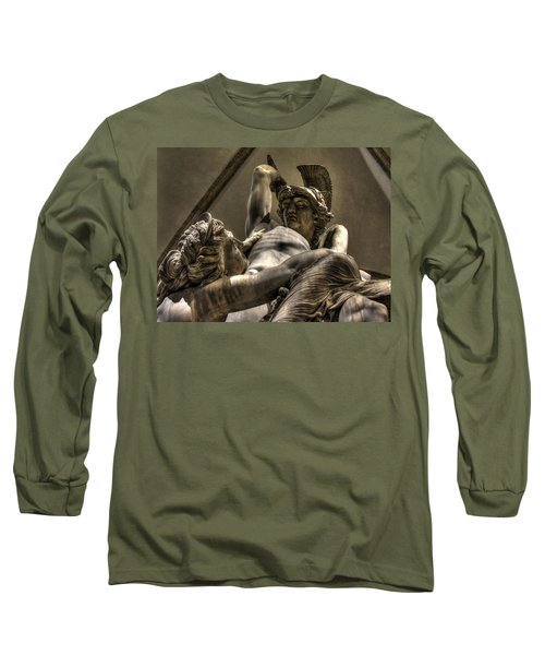 The Rape Of Polyxena Long Sleeve T-Shirt