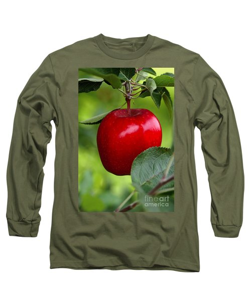 The Red Apple Long Sleeve T-Shirt