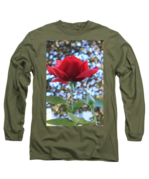 The Rose And Bud Long Sleeve T-Shirt