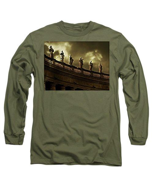 The Saints  Long Sleeve T-Shirt by Micki Findlay