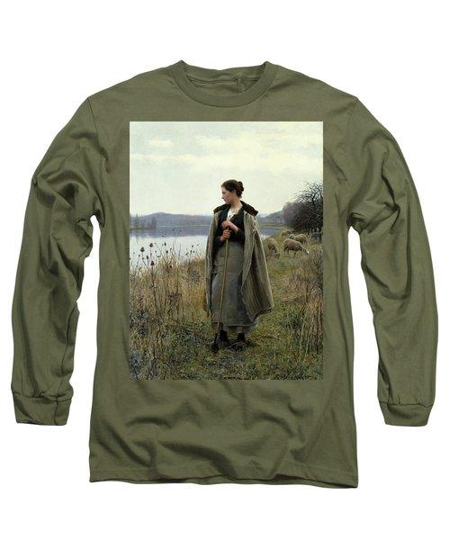The Shepherdess Of Rolleboise Long Sleeve T-Shirt