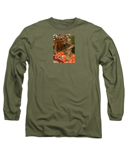 The Spirit Of The Pumpkin Long Sleeve T-Shirt by Venetia Featherstone-Witty