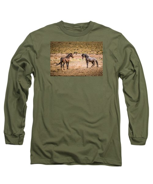 The Standoff  Long Sleeve T-Shirt