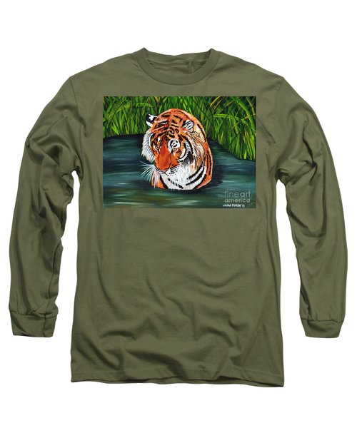 The Stare Long Sleeve T-Shirt by Laura Forde
