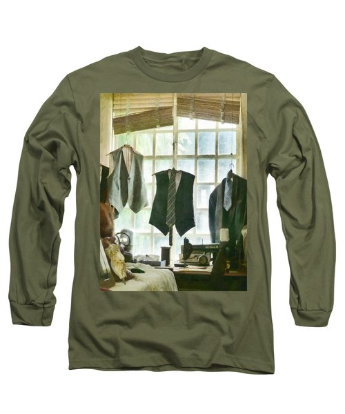 The Tailor Shop Long Sleeve T-Shirt