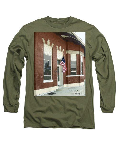The Train Depot Long Sleeve T-Shirt