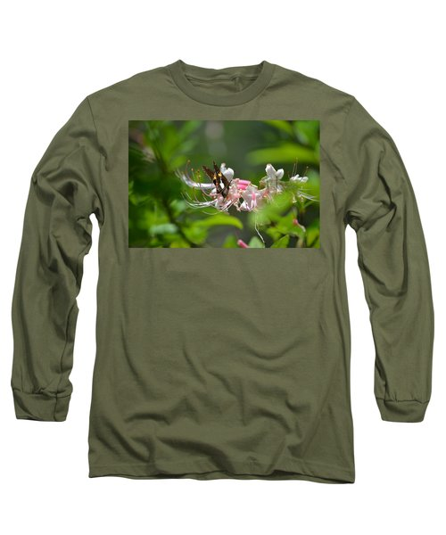 Long Sleeve T-Shirt featuring the photograph The Visitor by Tara Potts