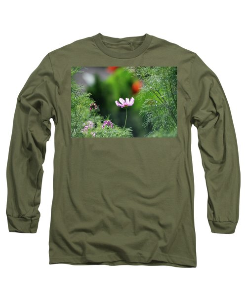 Long Sleeve T-Shirt featuring the photograph The Warmth Of Summer by Thomas Woolworth