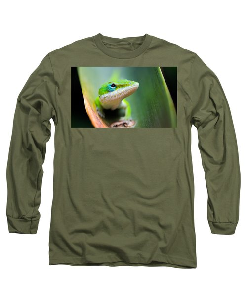 The Watching Eye Long Sleeve T-Shirt by Shelby  Young