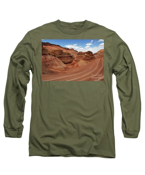 The Wave Center Of The Universe Long Sleeve T-Shirt