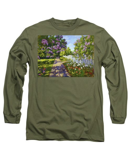 The White Fence Long Sleeve T-Shirt