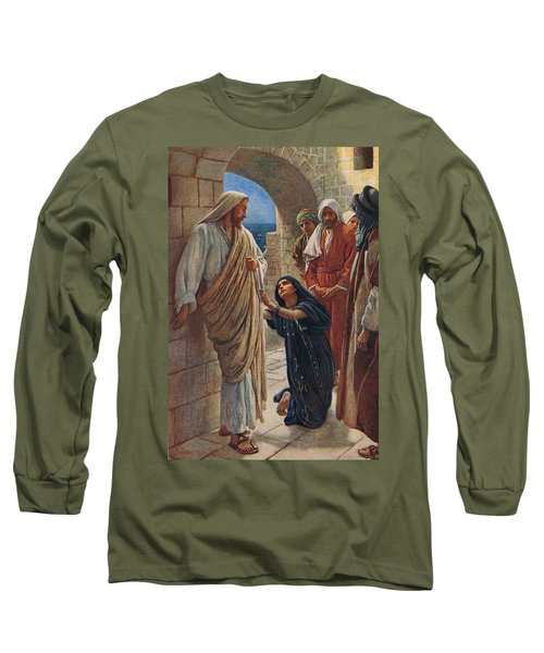The Woman Of Canaan Long Sleeve T-Shirt