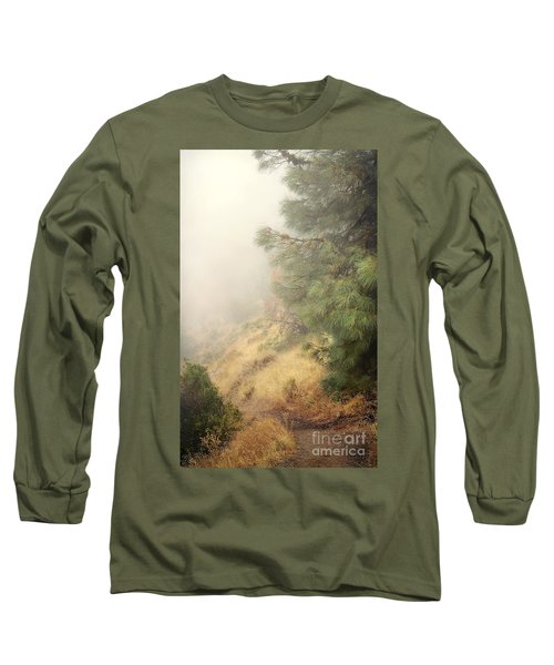 Long Sleeve T-Shirt featuring the photograph There And Back Again 2 by Ellen Cotton