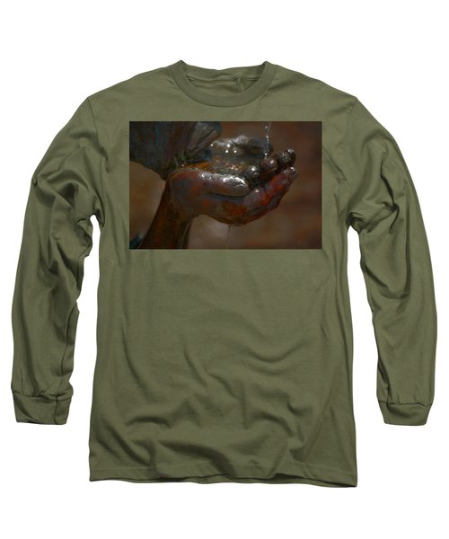 Long Sleeve T-Shirt featuring the photograph Thirsty by Leticia Latocki