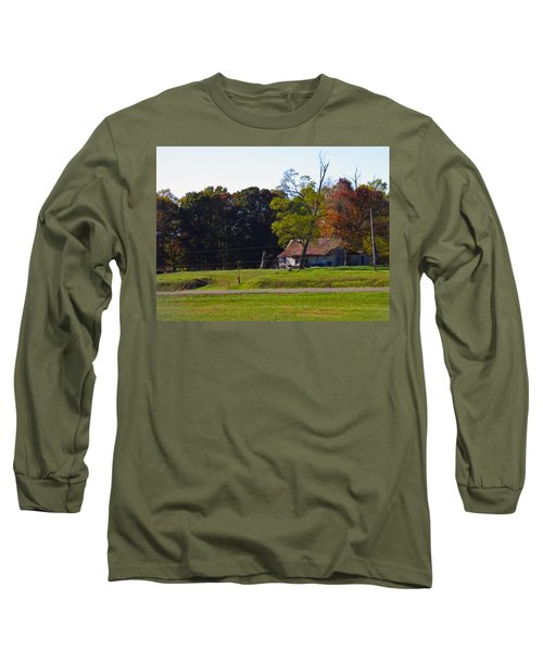 Long Sleeve T-Shirt featuring the photograph This Old House by Nick Kirby