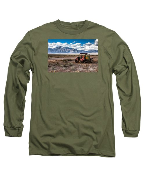This Old Truck Long Sleeve T-Shirt by Robert Bales