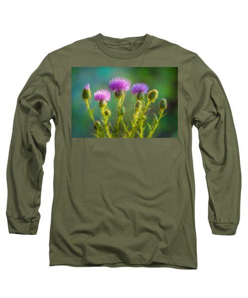 Thistle In The Sun Long Sleeve T-Shirt