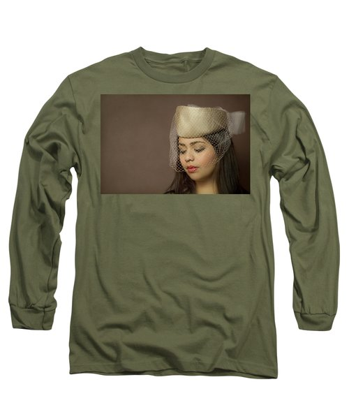Thoughts Of Mystery Long Sleeve T-Shirt