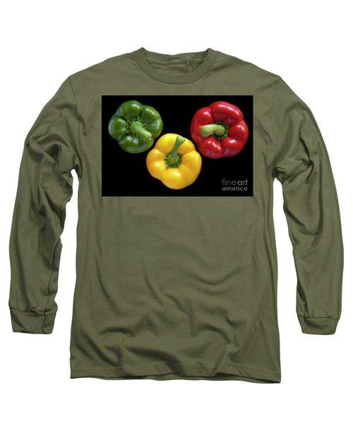 Three Colors Long Sleeve T-Shirt