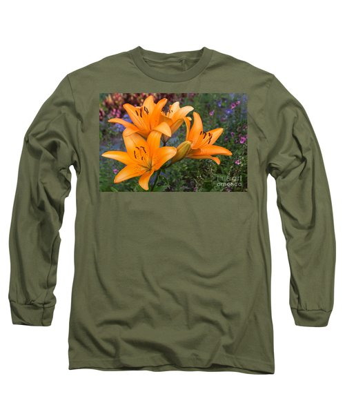 Tiger Lilies Long Sleeve T-Shirt