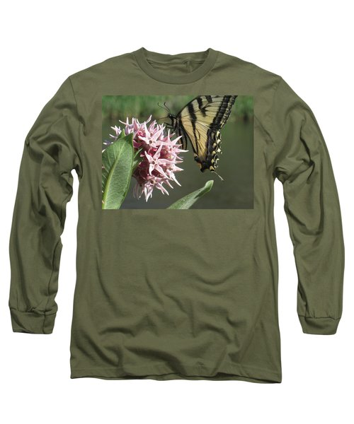 tiger on the Rio Grande Long Sleeve T-Shirt