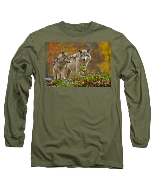 Timber Wolf Pictures 411 Long Sleeve T-Shirt