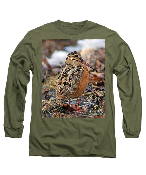 Timberdoodle The American Woodcock Long Sleeve T-Shirt