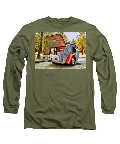 Time For Camping Long Sleeve T-Shirt