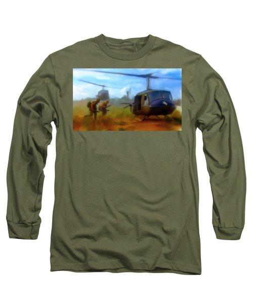 Time Sacrificed II Vietnam Veterans  Long Sleeve T-Shirt