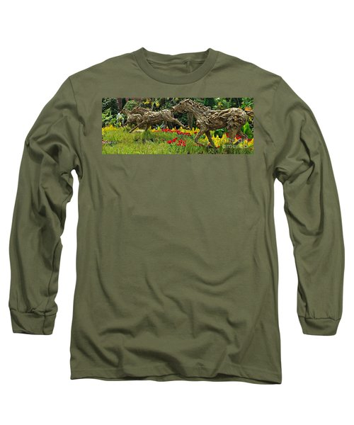 Time To Run Long Sleeve T-Shirt