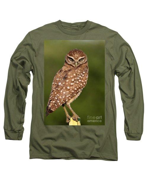 Tiny Burrowing Owl Long Sleeve T-Shirt