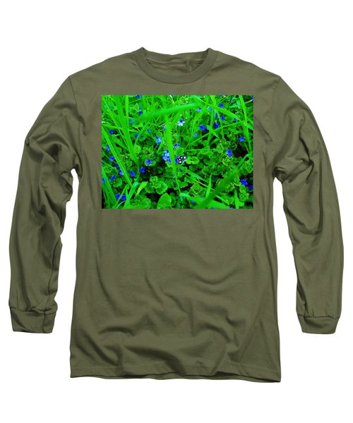 Long Sleeve T-Shirt featuring the photograph Tiny Butterfly by Sherman Perry