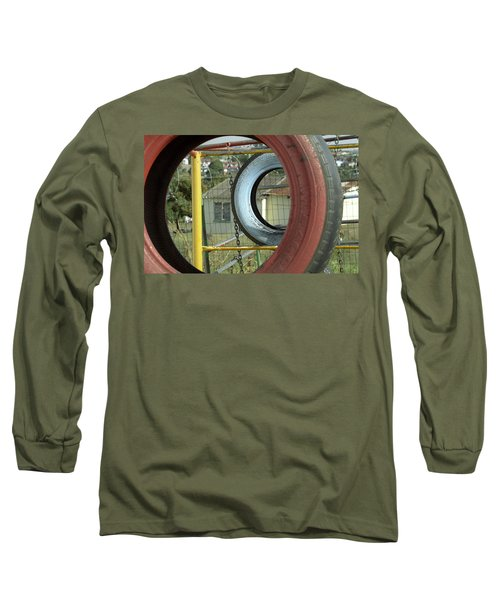 Tires In An Orphanage Long Sleeve T-Shirt