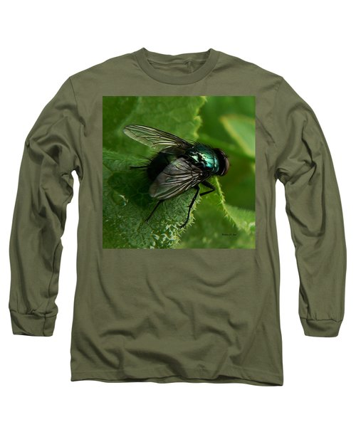 To Be The Fly On The Salad Greens Long Sleeve T-Shirt