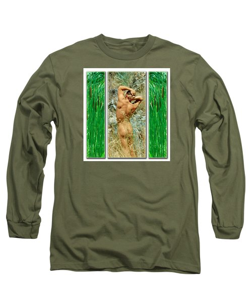 Tom D. 7--2 Long Sleeve T-Shirt by Andy Shomock