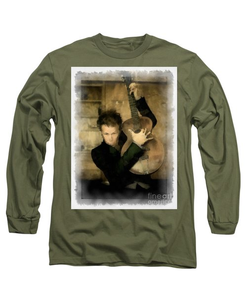 Tom Waits Long Sleeve T-Shirt