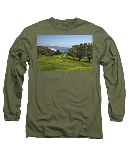 Torrey Pines Golf Course North 6th Hole Long Sleeve T-Shirt