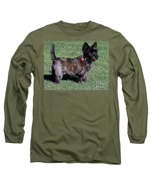Toto's Sister Sweetpee Long Sleeve T-Shirt by Jay Milo